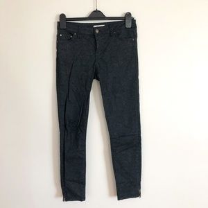 Zara Denim Gray Skinny Jeans